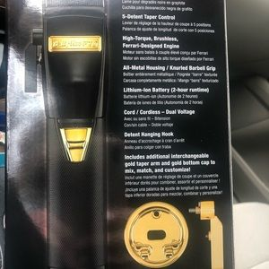 Babyliss Pro Black Cordless Cliplimited edition
